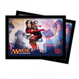 acheter magic retour sur ravnica 80 protege cartes izzet magic. Black Bedroom Furniture Sets. Home Design Ideas
