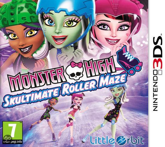 Acheter monster high skultimate roller maze jeux vid o - Jeux monster high roller ...