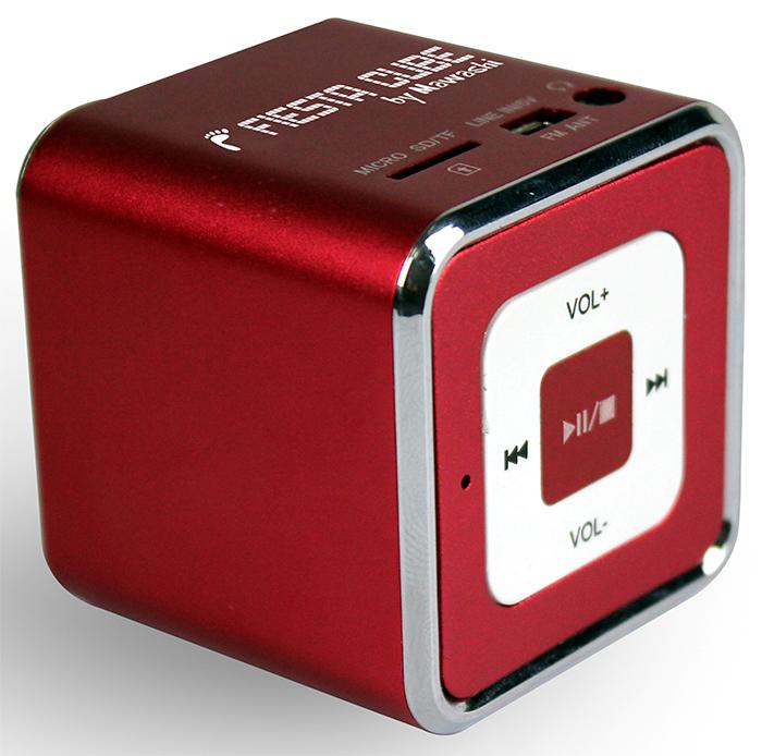 acheter fiesta cube rouge edition lecteur mp3 mpg4. Black Bedroom Furniture Sets. Home Design Ideas