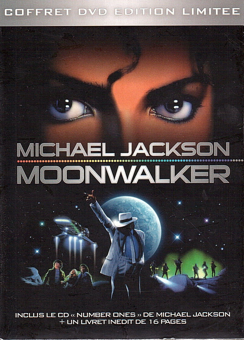 acheter coffret moonwalker edition limitee dvd spectacle documentaire michael jackson sean. Black Bedroom Furniture Sets. Home Design Ideas