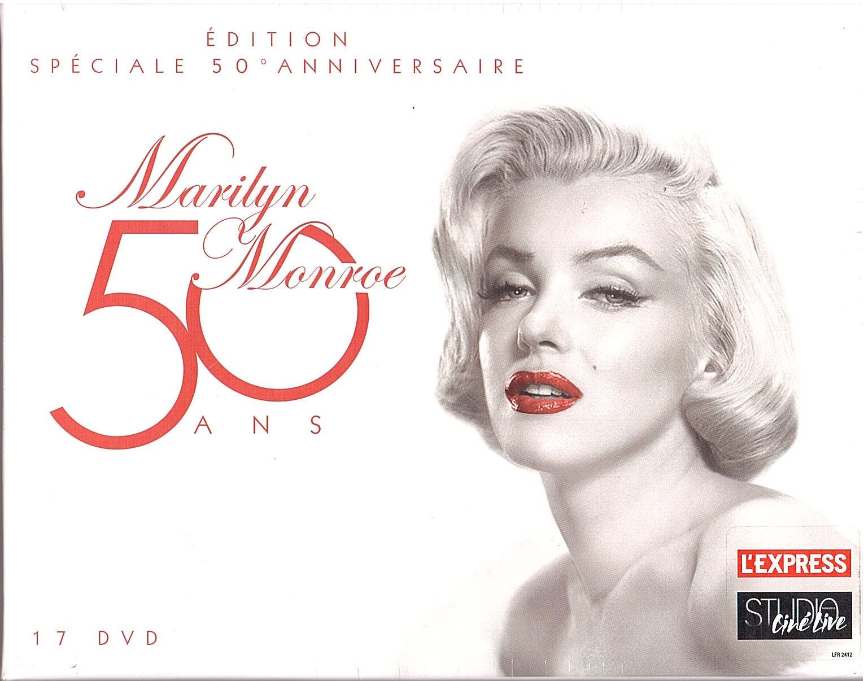 Acheter Marilyn Monroe 50 Ans Coffret 17 Films Edition