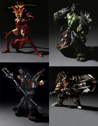 figurines warcraft serie one