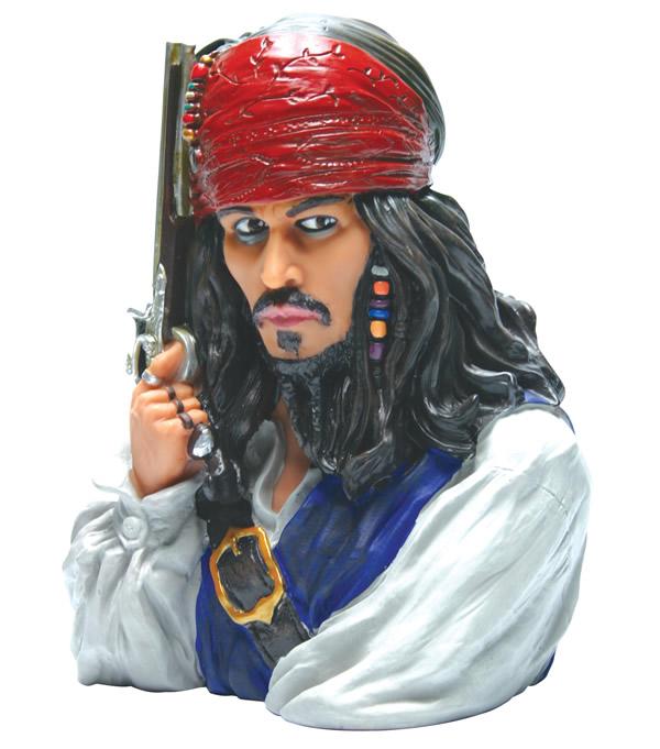 Acheter pirates des caraibes tirelire jack sparrow figurine - Jeux de jack et les pirates ...