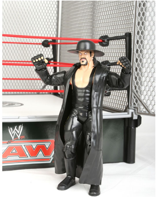 Acheter wwe catch ring officiel figurine undertaker - Catch de fille ...