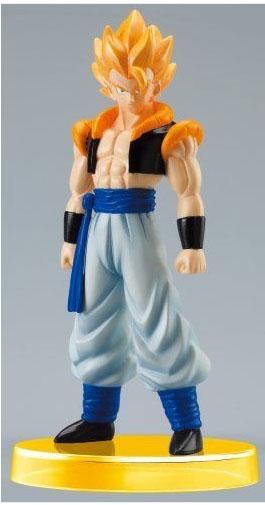Figurine Gogéta de Dragon Ball Z en perles à repasser .  Création Perles à