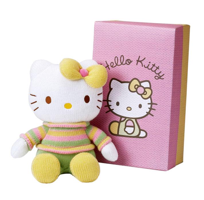 Acheter hello kitty pantin en tricot modele sweater 27 cm figurine hello kitty - Modele hello kitty ...