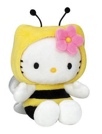 Acheter hello kitty bean bag 15 cm modele abeille figurine hello kitty - Modele hello kitty ...
