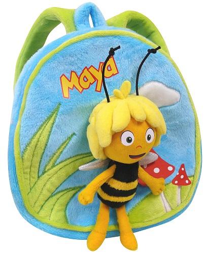 acheter maya l 39 abeille sac a dos peluche 20 cm figurine maya l abeille. Black Bedroom Furniture Sets. Home Design Ideas