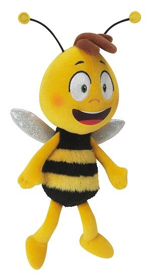 acheter maya l 39 abeille bean bag willy 18 cm figurine maya l abeille. Black Bedroom Furniture Sets. Home Design Ideas