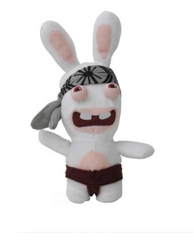 acheter les lapins cretins peluche 48cm karate figurine lapins crtins. Black Bedroom Furniture Sets. Home Design Ideas