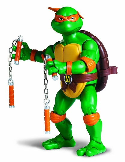 Acheter les tortues ninja michelangelo figurine - Tortue ninja michael angelo ...