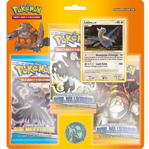 Acheter pokemon diamant et perle eveil des legendes tripack special pokemon - Pokemon rare diamant ...