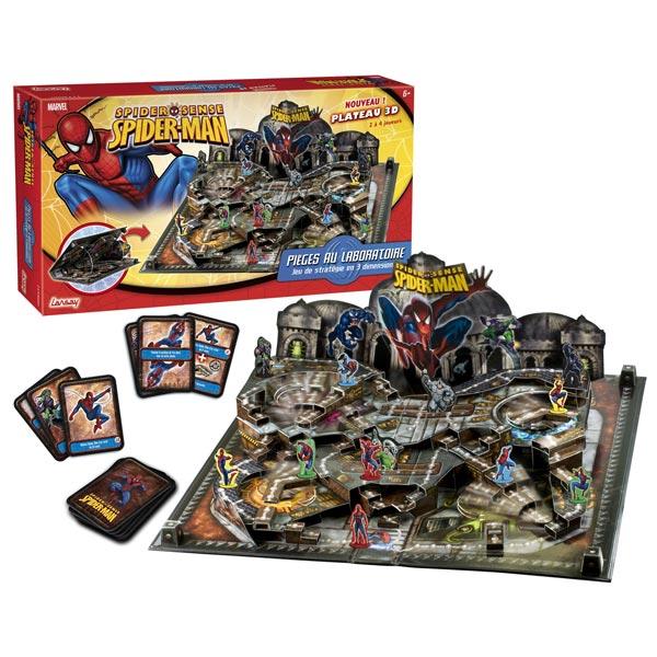 Acheter spiderman jeu de plateau en 3d jeux pour les petits - Jeux de spiderman 7 ...