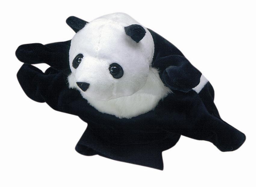 acheter peluche gant marionnette panda marionnettes. Black Bedroom Furniture Sets. Home Design Ideas