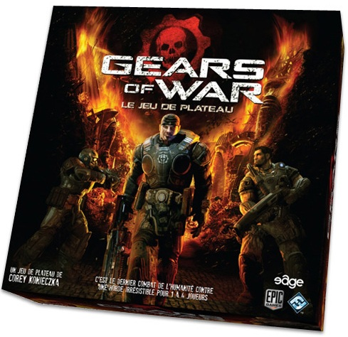 Acheter gears of war le jeu de plateau jeux pour les initis for Gears of war juego de mesa