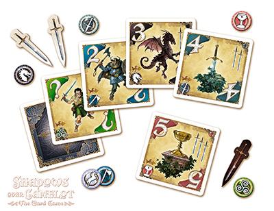 Acheter les chevaliers de la table ronde le jeu de cartes jeux pour les initis - Jeu de societe les chevaliers de la table ronde ...