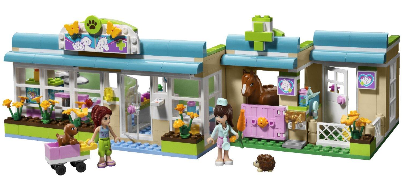 acheter lego friends 3188 la clinique veterinaire lego. Black Bedroom Furniture Sets. Home Design Ideas