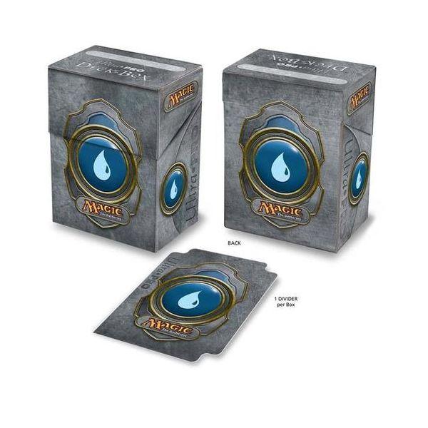 acheter magic ultra pro deck box greystone symbole mana bleu magic. Black Bedroom Furniture Sets. Home Design Ideas