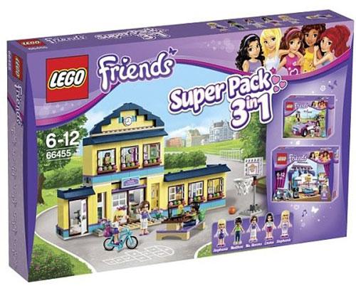Acheter lego friends 66455 super pack 3 en 1 l 39 ecole d 39 heartlake le studi l 39 ecole d - Ecole lego friends ...