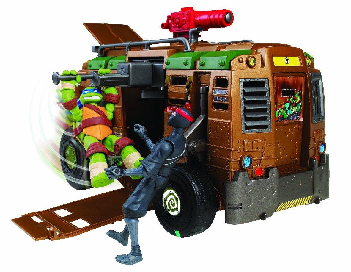 Acheter les tortues ninja le van de combat garons - Le rat des tortue ninja ...