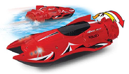acheter nikko bateau radiocommande aquasplit rouge garons. Black Bedroom Furniture Sets. Home Design Ideas