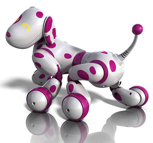 Acheter Zoomer - Chien Robot - Dalmatien - Rose Filles