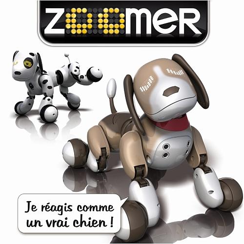 Acheter Zoomer - Chien Robot - Bentley Filles