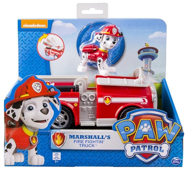 acheter paw patrol figurine marcus camion de pompier. Black Bedroom Furniture Sets. Home Design Ideas