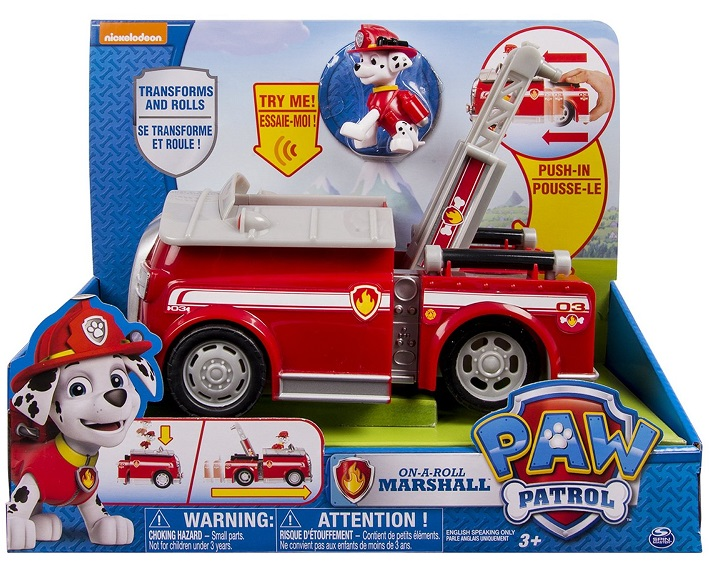 Paw Sonore MarcusCamion Acheter Vehicule Patrol Deluxe De 7gY6bfy