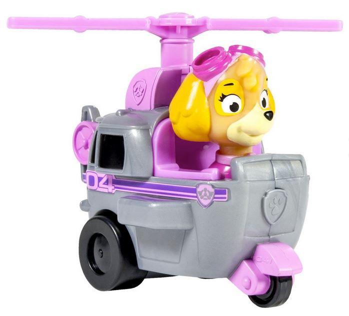 acheter paw patrol mini vehicule de secours stella helicoptere srie tv. Black Bedroom Furniture Sets. Home Design Ideas