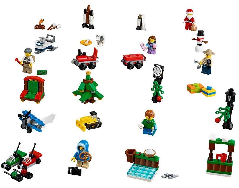 acheter lego city 60099 le calendrier de l 39 avent lego. Black Bedroom Furniture Sets. Home Design Ideas