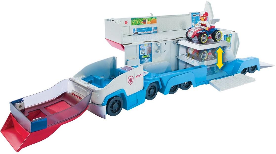 acheter paw patrol camion de transport ryder et vehicule filles. Black Bedroom Furniture Sets. Home Design Ideas