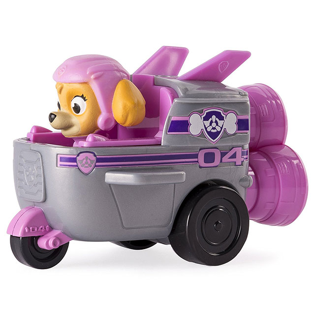 acheter paw patrol mini vehicule de secours stella fusee filles. Black Bedroom Furniture Sets. Home Design Ideas