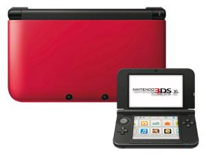 acheter console nintendo 3ds xl rouge accessoires. Black Bedroom Furniture Sets. Home Design Ideas