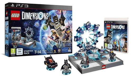 acheter lego dimensions starter pack ps3 action aventure. Black Bedroom Furniture Sets. Home Design Ideas