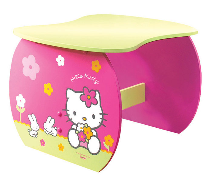 Acheter hello kitty fleurs table bureau hello kitty for Bureau hello kitty