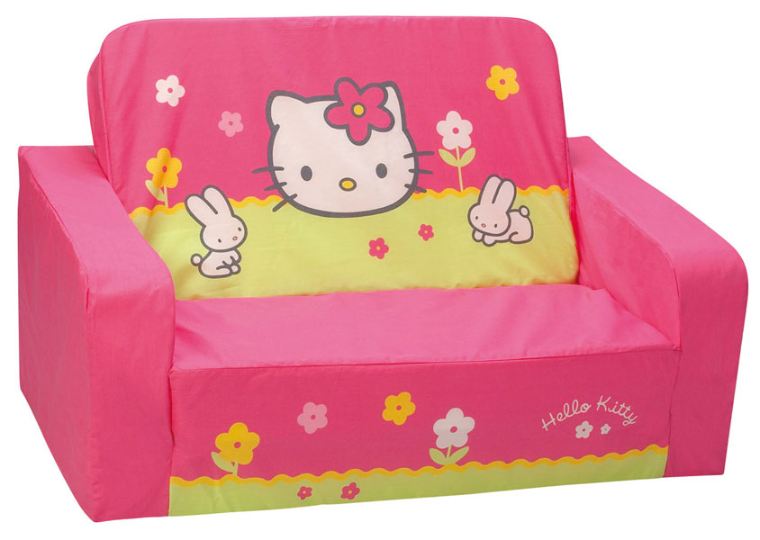hello kitty chambre jeux acheter hello kitty fleurs canape convertible hello kitty - Hello Kitty Chambre Bebe