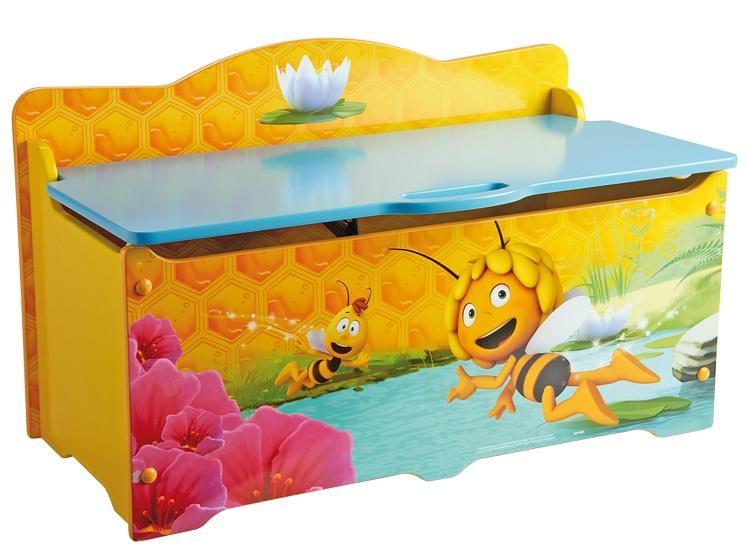 acheter maya l 39 abeille coffre a jouets grand modele maya l abeille. Black Bedroom Furniture Sets. Home Design Ideas