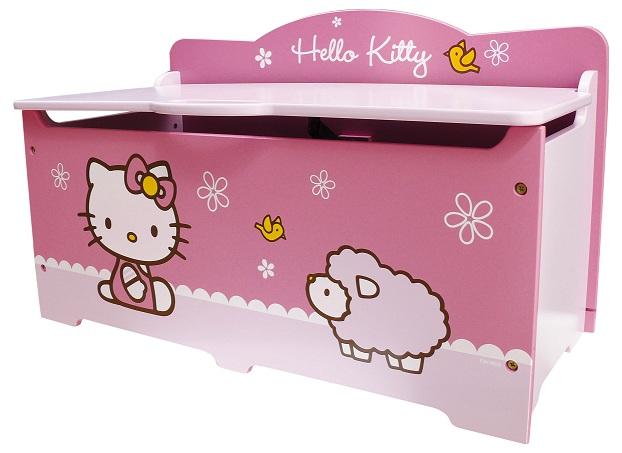 Acheter hello kitty noeud coffre a jouets grand modele hello kitty - Modele hello kitty ...