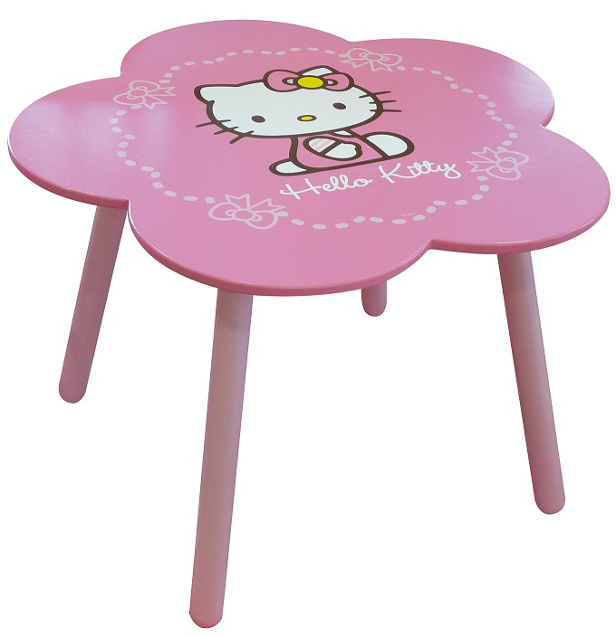 acheter hello kitty noeud table fleurs hello kitty. Black Bedroom Furniture Sets. Home Design Ideas