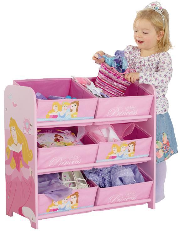acheter disney princesses 6 bacs de rangement disney princesses. Black Bedroom Furniture Sets. Home Design Ideas