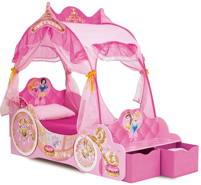 acheter disney princesses lit carrosse 171 cm disney princesses. Black Bedroom Furniture Sets. Home Design Ideas