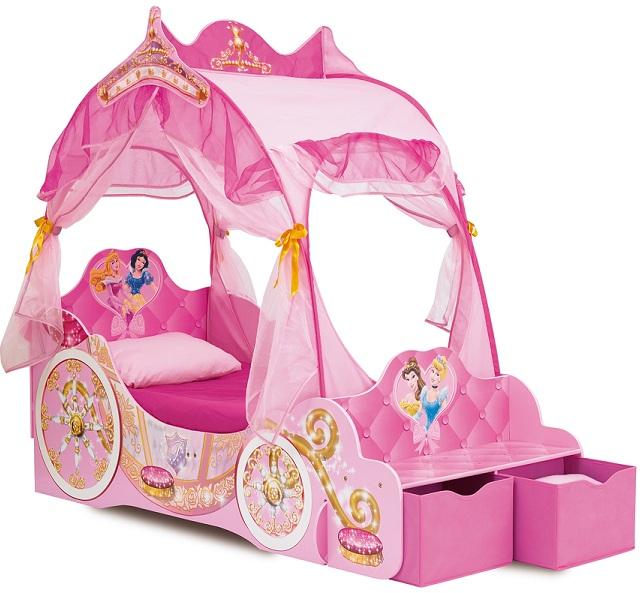 acheter disney princesses lit carrosse 171 cm disney. Black Bedroom Furniture Sets. Home Design Ideas