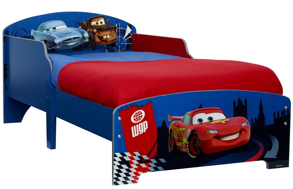 acheter disney cars 2 lit d 39 enfant 145 cm cars cars 2. Black Bedroom Furniture Sets. Home Design Ideas