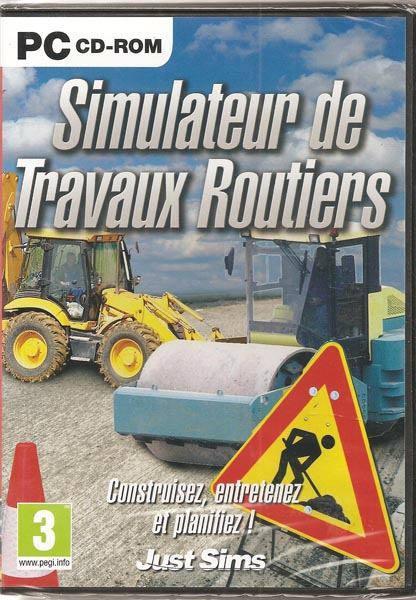 acheter simulateur travaux routiers jeux vid o pc simulation. Black Bedroom Furniture Sets. Home Design Ideas