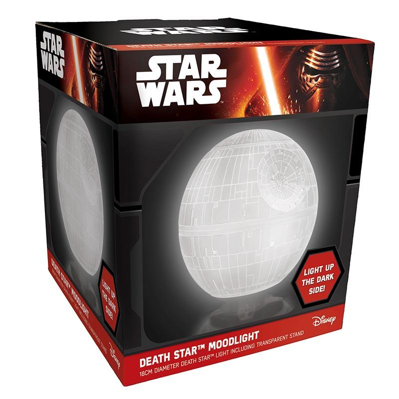 acheter star wars lampe death star mood light star wars. Black Bedroom Furniture Sets. Home Design Ideas