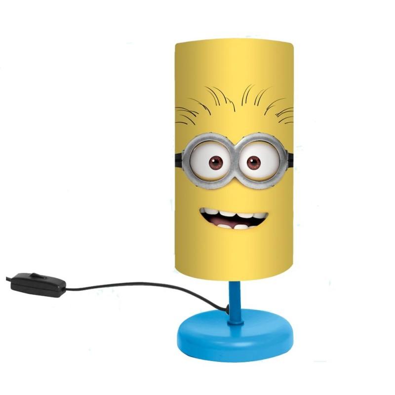 Acheter minions lampe de chevet pied metal bob 2 - Lampe de chevet metal ...