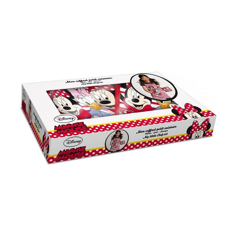 acheter disney - coffret petit cuisinier - tablier + maniques