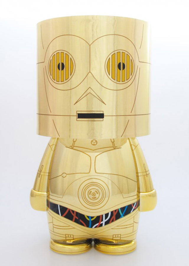 acheter star wars lampe c3po mood light star wars. Black Bedroom Furniture Sets. Home Design Ideas
