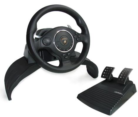 acheter volant lamborghini super sport atomic jeux vid o pc ps3 ps2 accessoires. Black Bedroom Furniture Sets. Home Design Ideas